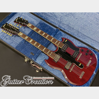 Burny SG-140JP CHERRY 1986年製【JIMMY PAGE STYLE】w/ORIGINAL HARD CASE 4.73kg