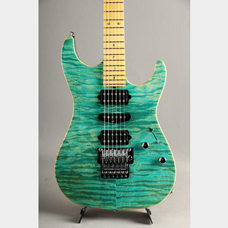 Suhr(並行輸入品ほか) Standard Quilt Maple Match Figured Headstock/ Bahama Blue 2011