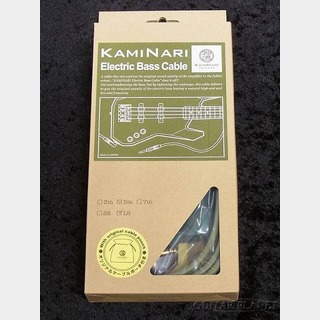 KAMINARI Electric Bass Cable K-BCBK5LS 鶯 -UGUISU-【5m-L/S】【ベース用シールド】【Made in JAPAN】