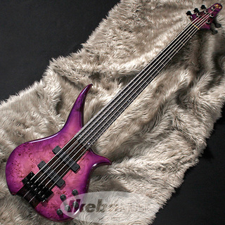 "Tune TWX-5W Through-Neck""Burl Poplar Top/Wenge Neck/Purple Burst"" [Ikebe Order Model]"