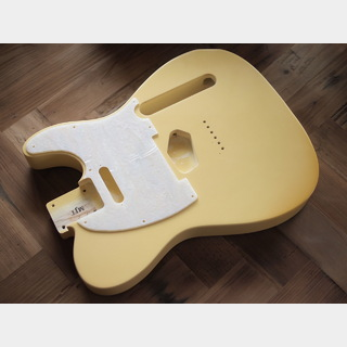 MJTTelecaster Body - Extra Light Swamp Ash - Cream - Closet Condition