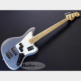 Fender Player Jaguar Bass (Silver/Maple) [Made In Mexico]