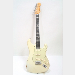 Fender Custom Shop Master Built Series Todd Krause Custom Stratocaster (Jeff Beck Style) Relic (USED) / Olympic White