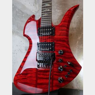 B.C.Rich USAMockingbird SL / Quilted Maple / Trans Red