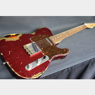 Xotic XTC-1Dark Candy Apple red over 3TB Heavy Aged