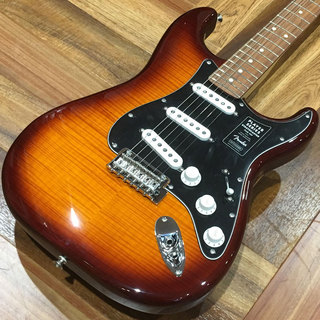 Fender PLAYER STRATOCASTER PLUS TOP/Pau Ferro/Tobacco Burst