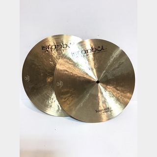 "istanbul Agop Traditional MEDIUM Hi-Hats 14""【中古品入荷しました!!】"