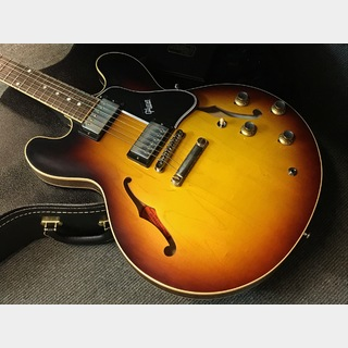 Gibson Custom Shop Historic Collection 1961 ES-335 Reissue VOS (#100100) Vintage Sunburst