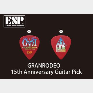 ESP ESP Artist Pick Sereis GRANRODEO 15th Anniversary Guitar Pick (PA-GRe10-15th)