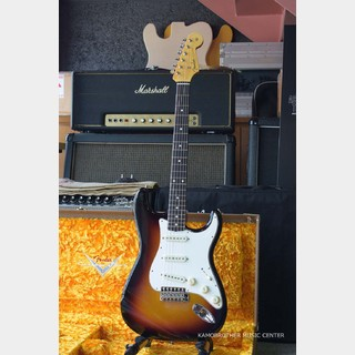 Fender Custom Shop MBS 1961 Stratocaster Lush Closet Classic 3 Color Sunburst by Dennis Galuszka