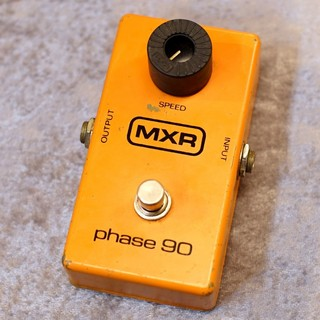 MXR 【USED】 '78 Phase 90 Block Logo [フェイザー] 【G-CLUB TOKYO】
