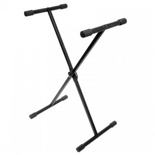 bespeco KSE Single tube Keyboard Stand X型キーボードスタンド 【WEBSHOP】