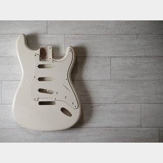 MJT Stratocaster Body - Alder - Vintage White - Closet Condition