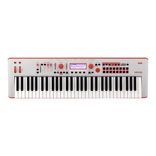 KORG KROSS2-61 Special Edition Gray-Red【1台限定箱ボロ特価】