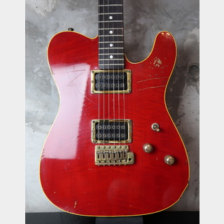 Moon Custom Guitars G/R Telecaster / HH / Trans Red