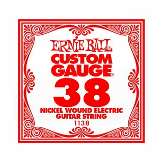 ERNIE BALL1138 NICKEL WOUND 038 エレキギター用バラ弦