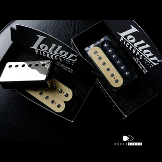 LOLLAR PICKUPSStandard Imperial® Humbucker Double Cream(Neck) & Rev Zebra Set ※カバーはこちらで外しております。