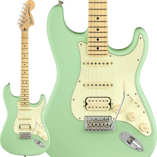 Fender American Performer Stratocaster HSS (Satin Surf Green) [Made In USA]