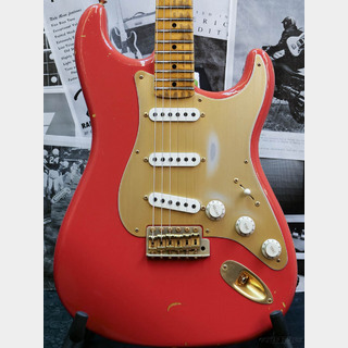 Fender Custom Shop Master Builder Apprentice 50s Stratocaster Journeyman Relic -Fiesta Red- by Vincent Van Trigt 2017