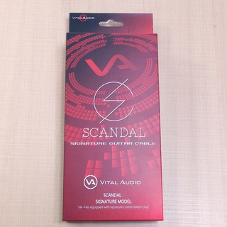 Vital Audio VA-Flex/SD 5m S/S(ショート/ロング) SCANDAL Signature 【40%OFF!!】【同梱¥5,000以上で送料無料】