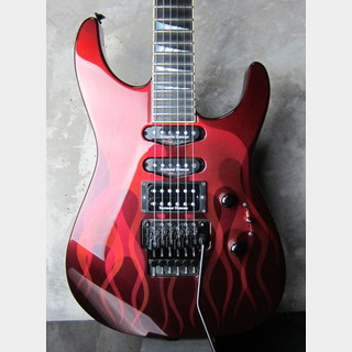Jackson USA SL-1 Soloist / Red Ghost Flame / Flare Line-Fire Pattern