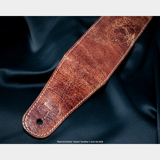 Richter Straps Beaver's Tail Worn Brown