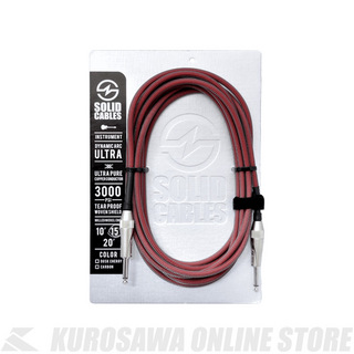 SOLID CABLESDynamic Arc Ultra 3m S-S【シールド】