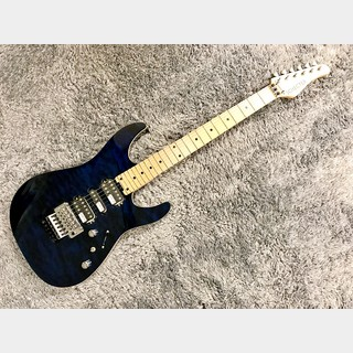 SCHECTER JAPAN NV-3-24-AL BLU/M (See-thru Blue)【アウトレット特価】【日本製】