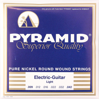 PYRAMID STRINGS EG Pure Nickel 009-042 エレキギター弦×6セット