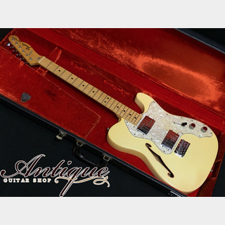 "Fender Telecaster Thinline 1972年製 Olympic White EX+++ 3.47kg ""Full-Original & Case Candy"""