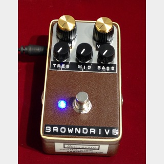 "Shin's Music BROWN DRIVE ""Brown Tolex"" 【在庫僅か】【送料無料】"