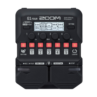 ZOOMG1 FOUR Guitar Multi-Effects Processor