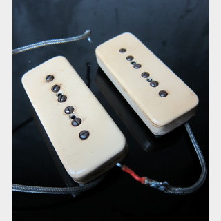 Gibson50's P-90 Pickup Neck and Bridge Set w/ Thin Cover