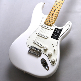 Fender PLAYER STRATOCASTER MN / PWT(Polar White)【メイプルネック ストラト!】