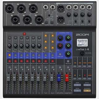 ZOOM LiveTrak L-8 [8-Trak Mixer / Recorder]