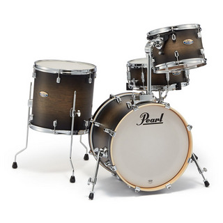 Pearl DMP984P/C #262 [Decade Maple Bop Club Kit / Satin Black Burst]