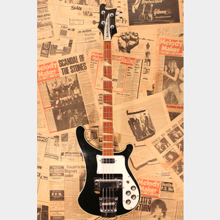 "Rickenbacker 1973 4001 ""Jetglo with Checker Binding"""