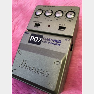 IbanezPD7 Phat-Hed Bass Overdrive