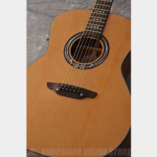 Luna Guitars Art craftsman inspired full GA cedar koa [ART CRAFTSMAN]