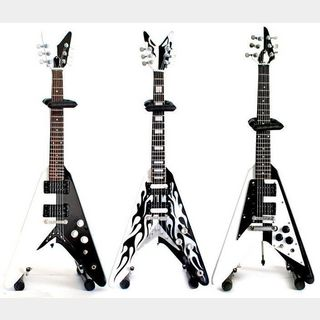 NO BRAND Michael Schenker Miniature Guitar Set