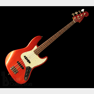 Fender Custom Shop TBC '62 Jazz Bass Journeyman Relic (Aged Candy Apple Red-MH) '18 【USED】