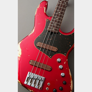 Xotic XJ-1T 4st Alder/R  -Dark Candy Apple Red/Heavy Aged Lacquer- 【USED】
