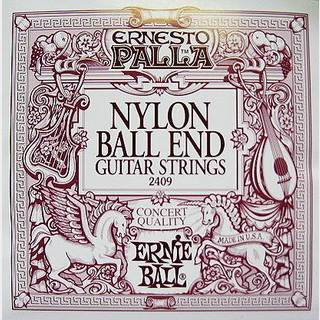 ERNIE BALL Ernesto Palla Nylon Classical #2409 Black Nylon Ball End 28-42 【WEBSHOP】
