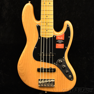 Fender 【冬のボーナスセール】American Professional Jazz Bass Ⅴ -Natural- #US17075802【送料無料】【4.02kg】