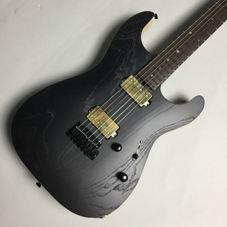 SAITO GUITARSS-622 Extraordinary Wenge Neck / HH / Black(open)【限定品】