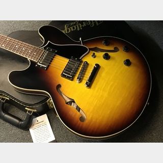 Heritage Standard H-535 Semi-Hollow  (#AK00802) Original Sunburst