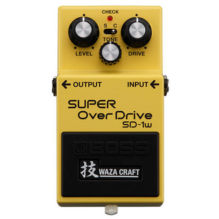BOSS SD-1W(J) [MADE IN JAPAN] [SUPER OverDrive 技 Waza Craft Series] 【期間限定★送料無料】