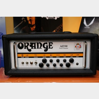ORANGE AD30HTC/Black (ALL VALVE, 30 WATT, CHANNEL SWITCHING HEAD) 【送料無料】【Made in UK】
