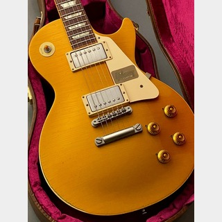 Gibson Custom Shop True Historic 1957 Les Paul Gold Top Murphy Aged (2016年製USED) Vintage Antique Gold