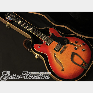 Hagstrom Viking Deluxe Semi-Hollow 2009年製【Amber Sunburst】~Legend British Sound~ 3.4kg